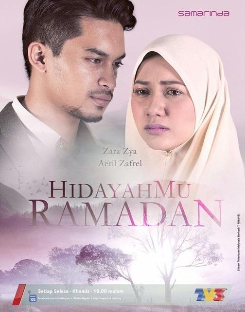 hidayahmu ramadhan tv3, poster hidayahmu ramadhan tv3