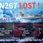 Kapal TGN267 hilang?? Trigana Air