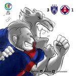 JDT mara separuh akhir afc cup tewaskan south china 3-1 (Agg4-2) 15.9.2015