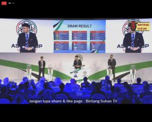 keputusan undian kelayakkan piala asia 2019