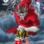 Live streaming malaysia vs hongkong 10.10.2017