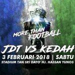Live streaming JDT VS KEDAH PIALA SUMBANGSIH 3.2.2018
