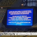Game Malaysia vs japan, Tajikistan vs Thailand ditunda , esok 11 pagi, 27.9.2018
