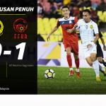 Keputusan persahabatan malaysia 0 vs 1 Kyrgyzstan  16.10.2018