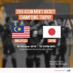 Live streaming hoki Malaysia vs  jepun Asian champions trophy 18.10.2018