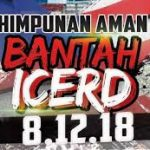 Live streaming himpunan ANTI ICERD 8.12.2018