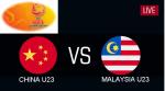 malaysia vs china afc u23 2019,