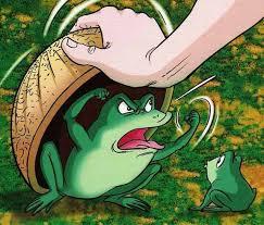 seperti katak dibawah tempurung,