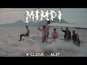 mimpi k clique, lirik lagu k clique mimpi ft alif,