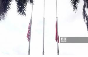 bendera separuh tiang kelantan,