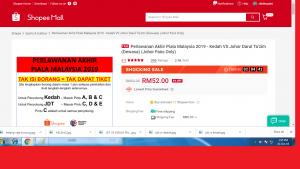 tiket final piala malaysia 2019,
