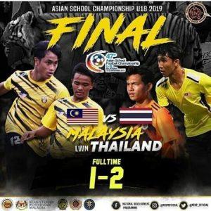 Malaysia Vs Thailand u18