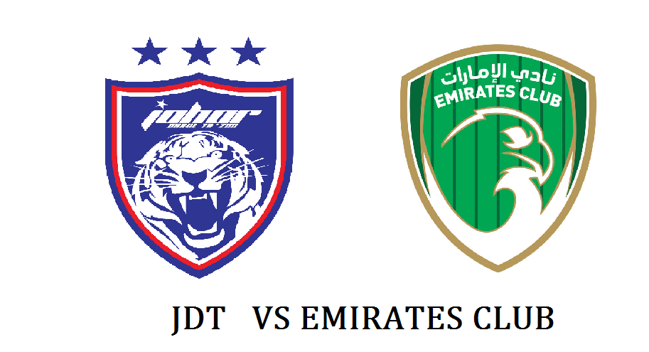 jdt vs emirates club, jdt ,jdt vs emirates club fc,