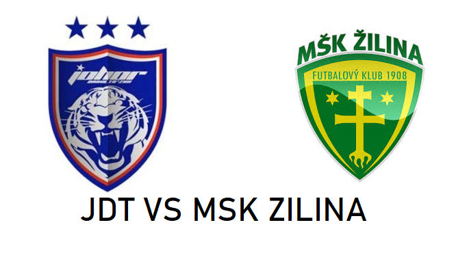 JDT VS MSK ZILINA, jdt vs zilina, logo jdt vs msk zilina