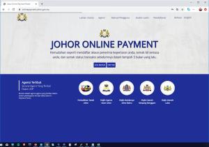 johor online payment,