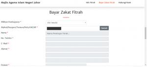 bayar zakat fitrah online,