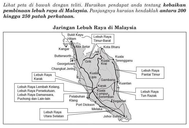 jaringan lebuh raya di malaysia