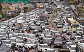 traffic jam, kesesakan lalu lintas,